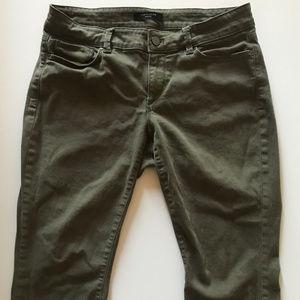 Ann Taylor Petite Curvy Skinny Cotton Twill Jeans